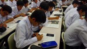 高1 簿記体験授業09