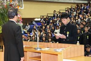 30.中学卒業式24