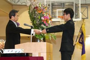 30.中学卒業式15
