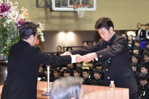 30.高校卒業式10