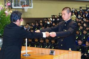 29.中学卒業式14
