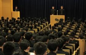 生徒会長選挙立会演説会