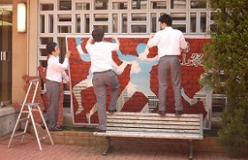 桜山祭文化の部(会場作成)