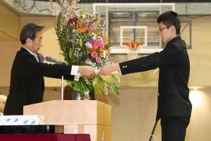 30.中学卒業式13