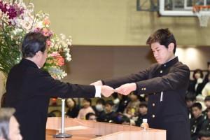 30.高校卒業式14